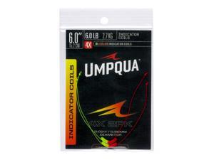 Umpqua Two-Color Neon High Visibility Indicator Coil W/Perfection Loops - 2 Pack