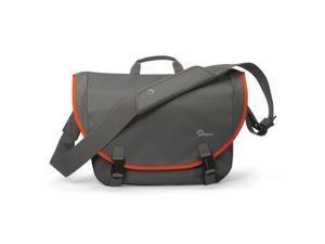 Lowepro Passport Messenger Shoulder Bag (Grey) for DSLR and Laptop Organization