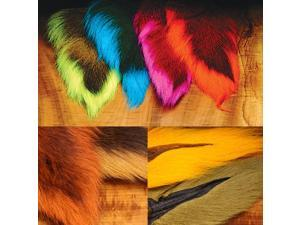 Hareline Large Northern Bucktail Fly Tying Materials Assorted Colors