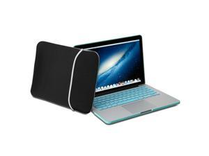 GMYLE(TM) Black Lycra Soft Sleeve Bag Case Cover For MacBook Pro 13 inch with Retina display