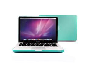Robin Egg Blue Turquoise Rubberized See-Through Hard Shell  Case Cover for Apple 15-inch  Macbook Pro
