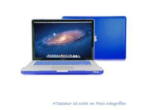 GMYLE Blue Ruberized Coating See-through Hard Shell Case Cover Perfect fit for 13 inch Macbook Pro