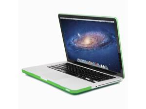 GMYLE Green Clear Crystal See-Through Hard Shell Snap On Case Skin Cover for 13-inch Apple Macbook Pro