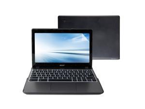 Acer Chromebook C720 C720P C740 Case, GMYLE 3 in 1 Hard Case - Dark Grey