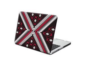 GMYLE Hard Case Print Frosted for 13 Retina MacBook Pro - Ethnic Tribal Pattern Rubberized Coated Hard Shell Case Cover