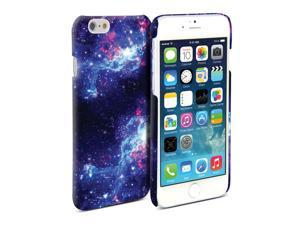 iPhone 6 Plus (5.5  Display) Case, GMYLE Cover Case Print Crystal Galaxy Pattern for iPhone 6 Plus - White
