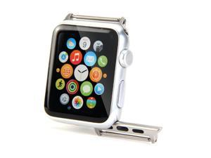GMYLE Stainless Steel Regular Watch Band Adapter Buckle for Apple Watch 38mm