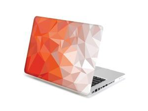 MacBook Pro 13 Case, GMYLE Hard Case Print Frosted - Geometry Pattern Rubber Coated Hard Shell Case Cover