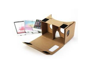 Google Cardboard DIY, GMYLE Virtual Reality Viewer 3D Cardboard Glasses