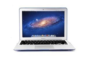 GMYLE Blue Clear Crystal Coating See-through Hard Shell Case Cover Perfect fit for 11 inch Macbook Air