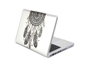 MacBook Pro 13 Case, GMYLE Hard Case Print Glossy -  Dream Catcher Pattern Rubber Coated Hard Shell Case Cover