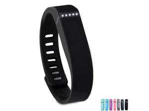 Fitbit Flex Wristband Bracelet with Clasp Replacement Accessory for Fitbit Flex Activity and Sleep Tracker - Black