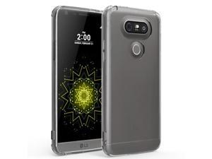 LG G5 Case, GMYLE Snap Cover Crystal for LG G5 - Transparent  Slim Fit Snap On Protective Hard Shell Back Case