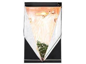 "Earth Worth 48""X48""X78"" Mylar Hydro Shanty Hydroponics Indoor Grow Tent"