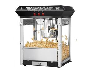 Great Northern Paducah Black Antique Style Popcorn Popper Machine, 8 oz
