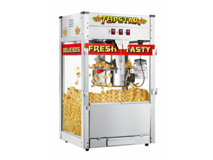 Great Northern TopStar Commercial Quality Bar Style Popcorn Popper Machine, 12oz