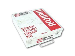 HELICOIL 5528-14 Thread Repair Kit, 304 SS, 7/8-14, 6 Pcs