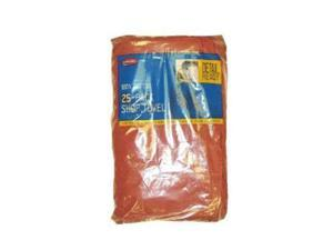 CARRAND 40048 Shop Towel,13 x 14 In.,Red,Pk 25