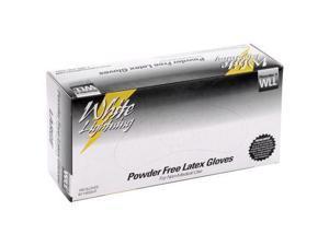 White Lightning WL-M Latex Gloves Medium