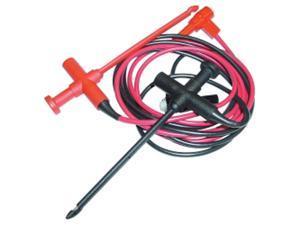 E-Z Hook 633XEL-48R/B Test Leads Xel Shrouded R. Angle Std Bananna Plug