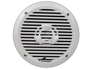 "Audiopipe 6.5"" 2-Way Marine Speaker 200W Max White APSW6032"