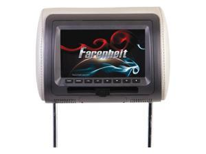 "Farenheit Replacement Headrest 7"" Lcd HRD71CC"
