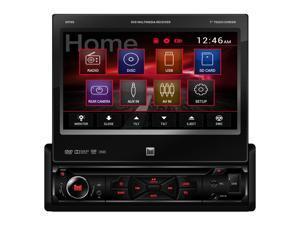 "Dual DV705 DVD/CD/MP3/WMA/Jpg Single Din 7"" Display 3Pr 4V Preamp Out"