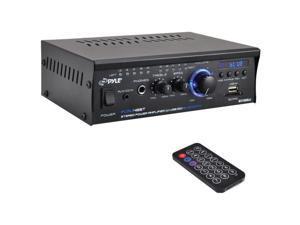 Pyle PCAU48BT Mini Amplifier With Bluetooth