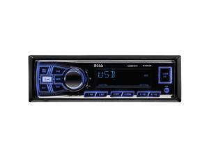 Boss Audio 610UA Mechless AM/FM Receiver USB Sd Memory Card Ports Front Auxin