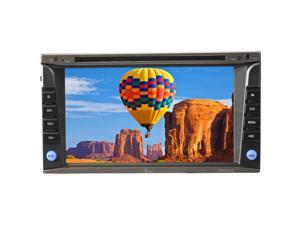 "Tview D626TSG 6.2"" Double Din Touch Screen Built In GPS Bluetooth USB & Sd Slot"