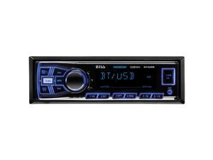 Boss Audio 611UAB Mechless Bluetooth AM/FM Receiver USB/Sd Front Aux Input