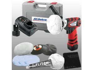 ARS1210R 12V Cordless Lithium-Ion 3 in. Mini Polisher with Headlight Restoration Kit