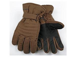 Kinco 1170M Brown Duck Fabric Lined Work Gloves M