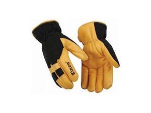 Kinco 101HKXL Nylon Back/Deerskin Palm Work Gloves XL