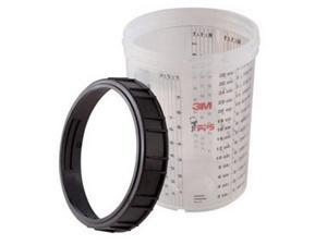 3M 16023 Cup and Collar, Large, PK4