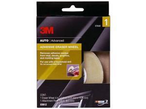 3M 3612 Adhesive Eraser Wheel, 4 x 5/8