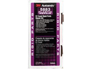 3M 5883 Automix EZ Sand Rigid Parts Repair 05883, 5 oz Tube Kit