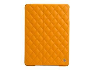 Jisoncase Quilted Premium Leatherette Smart Cover Case for iPad Air