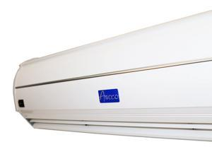 "Awoco 48"" Super Thin Alloy Case Commercial Indoor Air Curtain UL w/ Heavy Duty Door Switch 1200 CFM 110V-120V 60Hz 400W Welbon FM-3512L/Y"