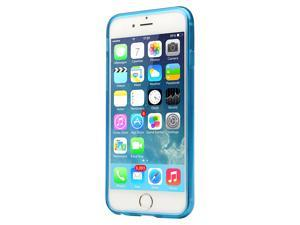 Jisoncase Sky Blue TPU Extremely Transparent Clear Back Case for Apple iPhone 6/6s JS-IP6-03P40