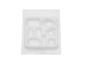 Resin Epoxy Mold For Jewelry Casting 8 Assorted Jewels