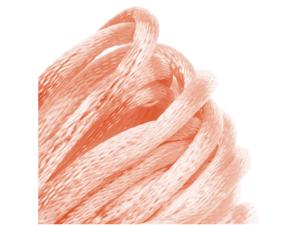 Rayon Satin Rattail 2mm Cord - Knot & Braid - Light Peach (6 Yards)