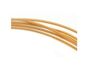 14K Gold Filled Wire 22 Gauge Round Half Hard 5 Ft