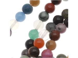 Gemstone Bead Lot Mix 6mm Round Beads /15.5 Inch  Strand