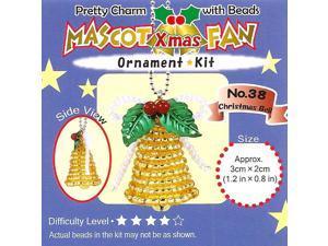Create Miyuki Bead Charm Christmas Ornament Kit - Bell