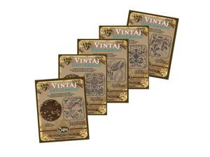 5 Pack Vintaj DecoEmboss Die Set #2B For Sizzix Bigkick Machine (1 Set)