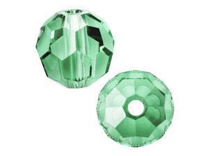 Swarovski Crystal, #5000 Round Beads 8mm, 8 Pieces, Erinite