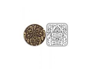 Vintaj DecoEmboss Die, For Sizzix Bigkick Machine - Ikat Pattern