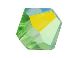 Preciosa Czech Crystal Bicone Beads 4mm Peridot AB /50
