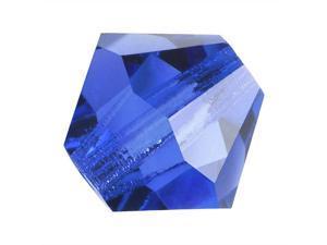 Preciosa Czech Crystal Bicone Beads 6mm 'Sapphire' (20)